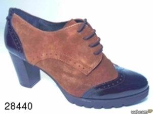 Zapato de vestir de char.bom-ante color marron (28440)