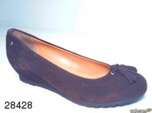 Zapato de vestir de ante color marron (28428)