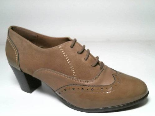 Zapato de vestir de ch-nap-ante color taupe (29111)