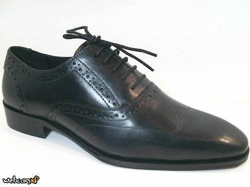 Zapato de vestir de piel color negro (32029)