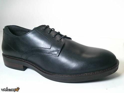 Zapato de vestir de piel color negro (31716)