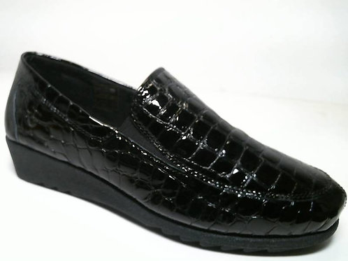 Zapato de vestir de cococharol color negro (29489)