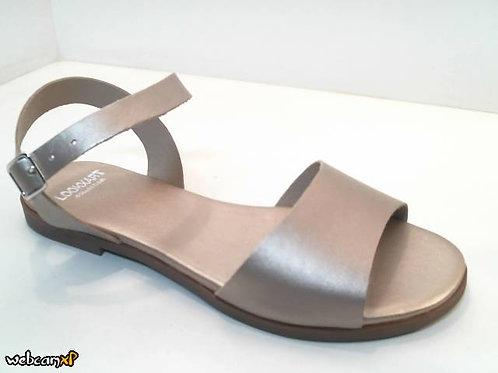 Sandalia de nacar color metal (32492)