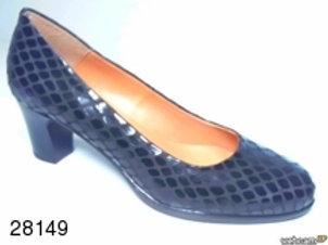 Zapato de vestir de serp color marron (28149)