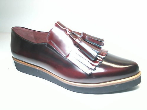 Zapato de vestir de antic color burdeos (29444)