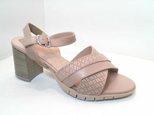 Sandalia de piel color hielo (32559)