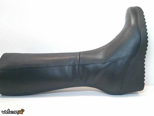 Bota de napa color negro (32069)