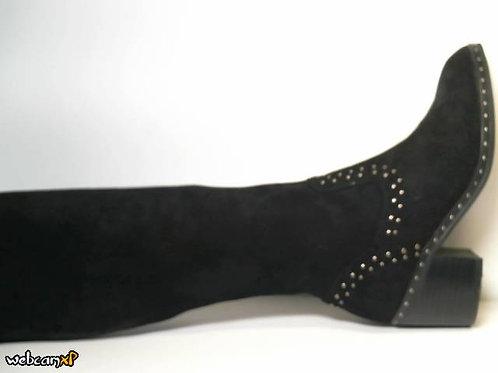 Bota de siena color negro (30949)