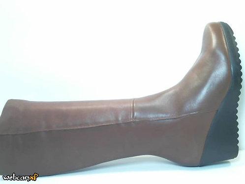 Bota de napa color cuero (32084)