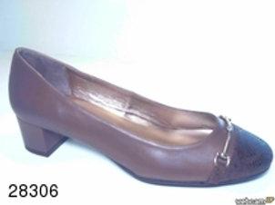 Zapato de vestir de famarpytone-seta color marron (28306)