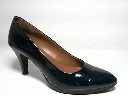 Zapato de vestir de charol color azul (29303)