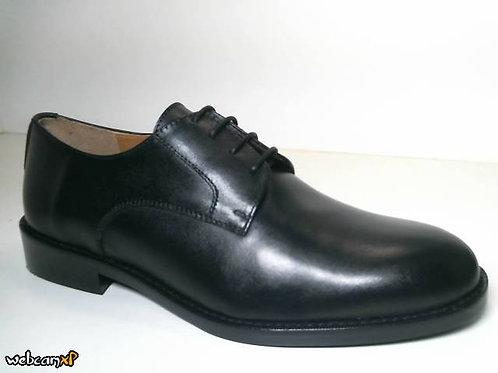Zapato de vestir de box color negro (31682)