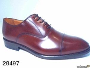 Zapato de vestir de parma color marron (28497)