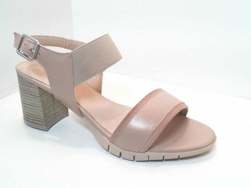 Sandalia de piel color hielo (32557)