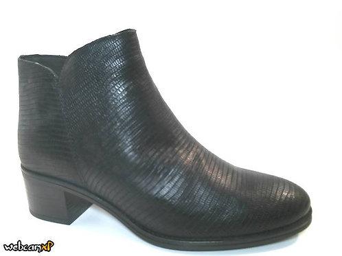 Botín de tejus color negro (32202)