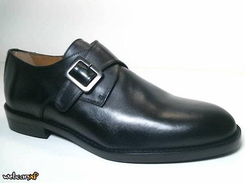 Blucher de box color negro (31684)