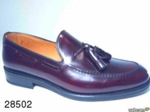 Zapato de vestir de rois color burdeos (28502)