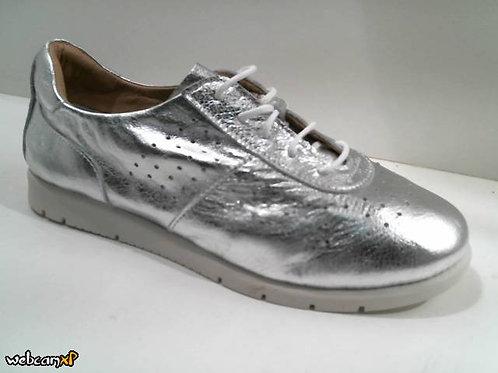 Deportivo de piel color gris (31991)