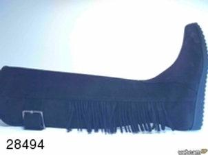 Bota de serraje color negro (28494)