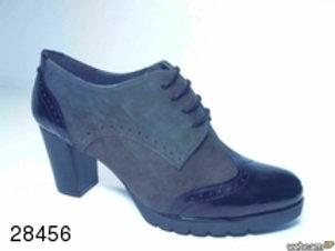 Zapato de vestir de char.bom-ante color negro (28456)