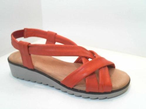 Sandalia de tubular color rojo (32582)