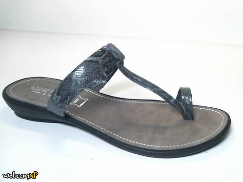 Sandalia de babysnake color negro (31740)