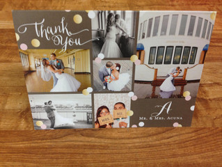 5 Tips for an Awesome Thank You Card...