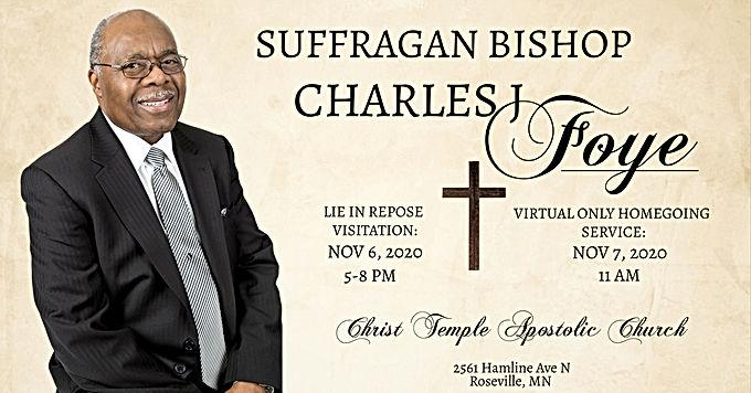 Suffragan Bishop Charles J Foye Lie in Repose Visitation