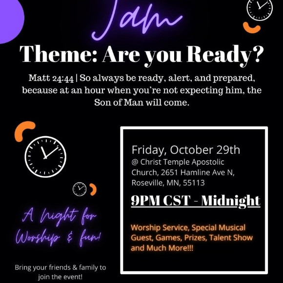 All Night Jam: Are you Ready?