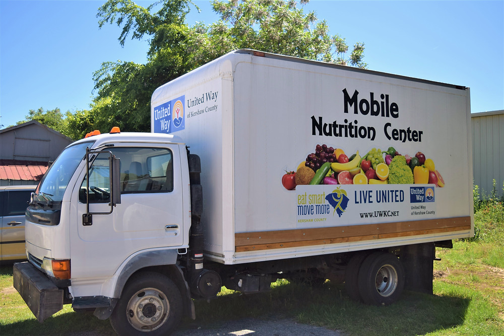 Mobile Nutrition Center Bus