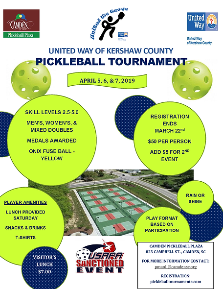 United We Serve Pickleball Tournament