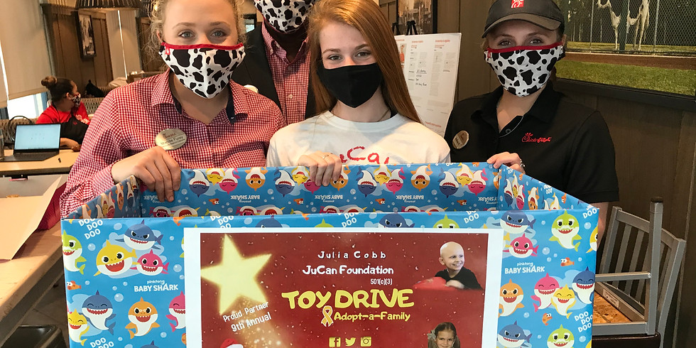 Donate a Toy at Chick-fil-A (Pearland Parkway)