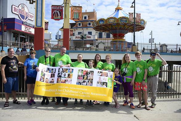 Galveston Boardwalk for Childhood Cancer