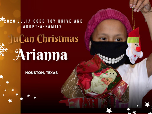 Arianna (9) - JuCan Family Christmas Adoption - Houston, Texas