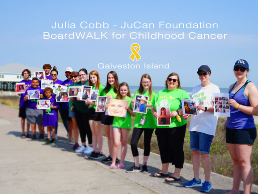 "6th Annual ""BoardWALK"" for Childhood Cancer - Galveston, Island"