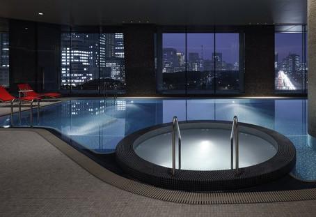 Evian Spa in Tokyo