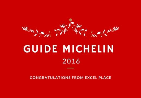 Parution du Guide Michelin 2016