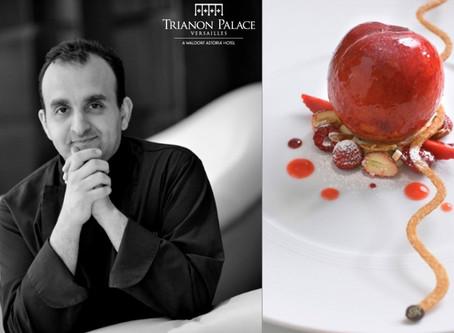 Eddie Benghanem, un chef pâtissier en Or pour le Trianon Palace