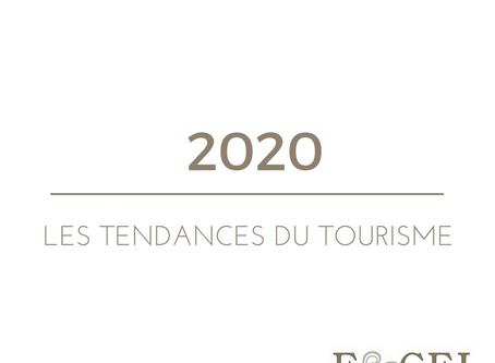 Les tendances du tourisme en 2020