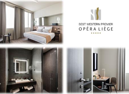 Paris Inn Group : Ouverture de l'Hôtel BEST WESTERN PREMIER Opéra Liège