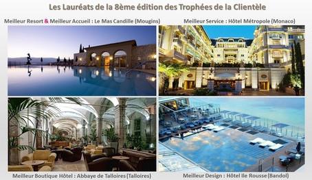 Félicitations aux quatre Lauréats des Trophées 2014 de la clientèle !