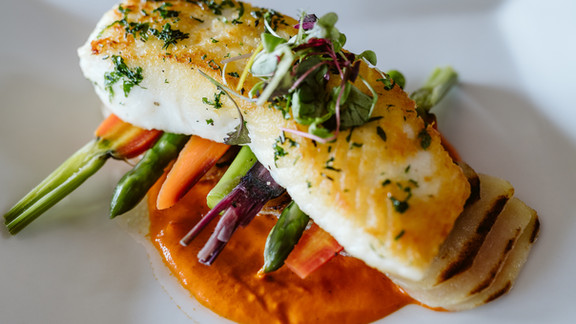 PAN-SEARED EAST COAST HALIBUT