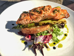 GRILLED FILET OF SALMON