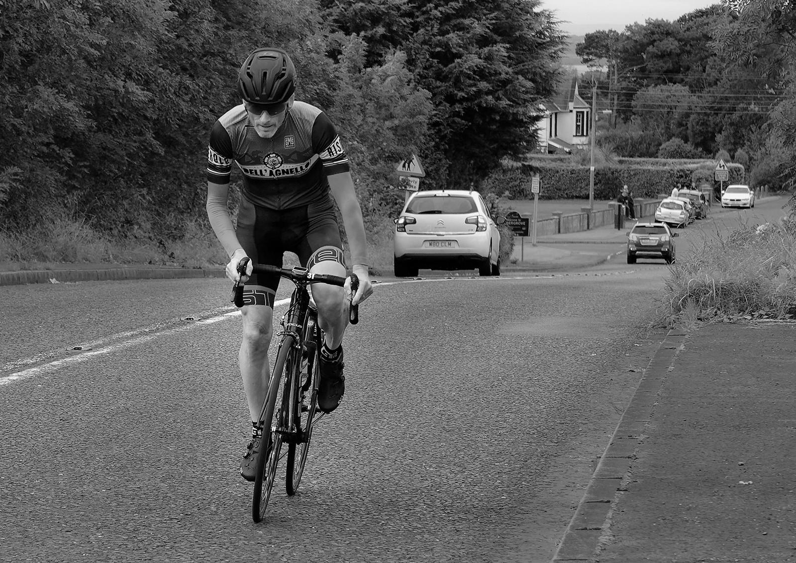 MONO - The Cyclist by William Allen ( 8 marks)