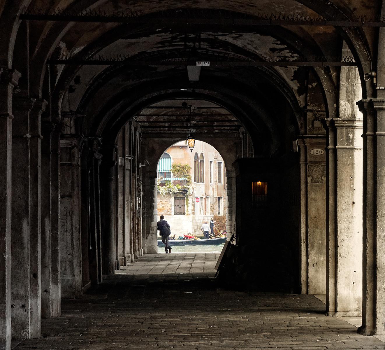 PDI - Venice Scene by William Allen (8 marks)