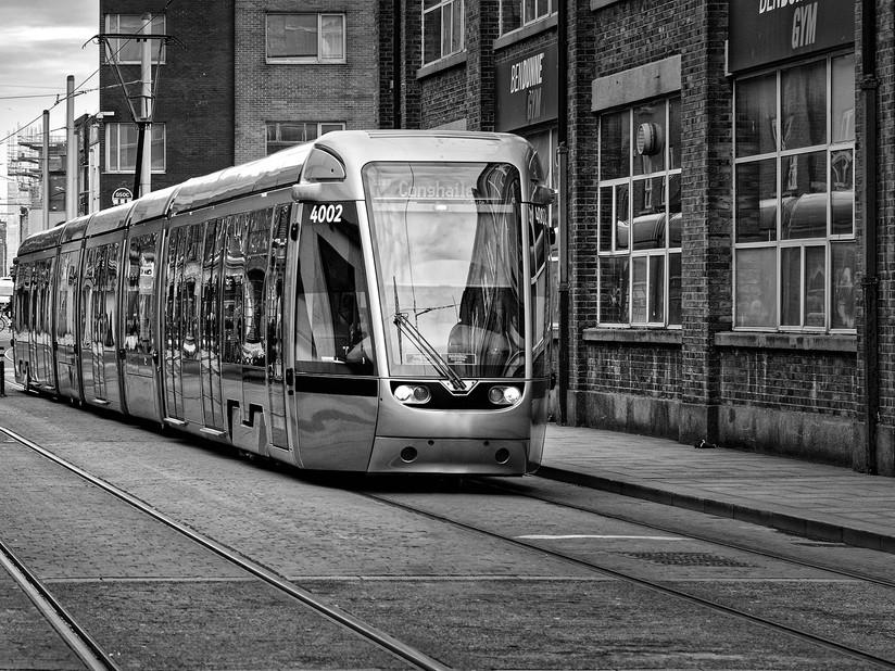 MONO - Dublin Tram by William Allen ( 9 marks)