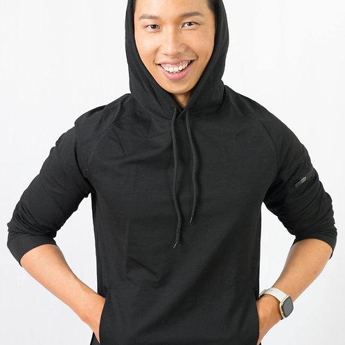 Black light hoodie