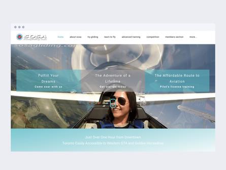 Sosa Gliding Club from Canada