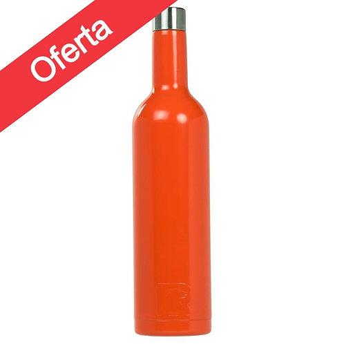 Botella Vino 750 ml Naranja