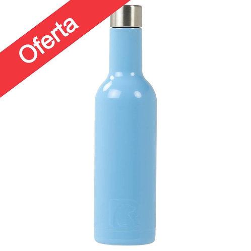 Botella Vino 375 ml Azul- Cod:845